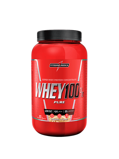 Whey Protein Concentrado Cookies and Cream - Ganho de Massa
