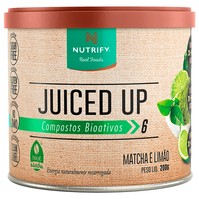 Juiced Up Nutrify - Bebida Energética Natural