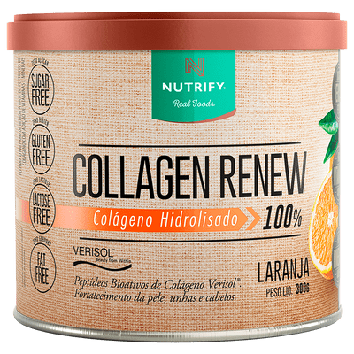 Collagen Renew Laranja - Pele, unhas e cabelo