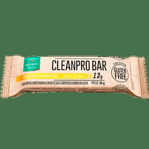 CleanPro Bar Baunilha com Nibs de Cacau - Barra de Proteína