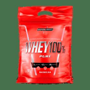 Whey Protein Concentrado Baunilha - Ganho de Massa