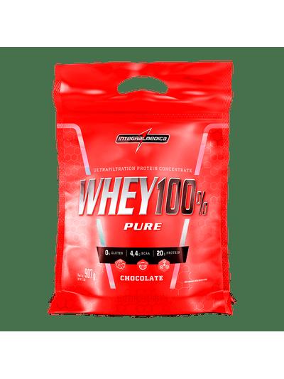 Whey Protein Concentrado Chocolate - Ganho de Massa