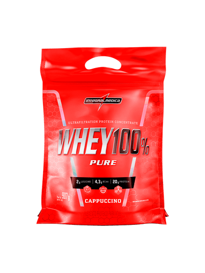 Whey Protein Concentrado Cappuccino - Ganho de Massa