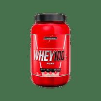 Whey Protein Concentrado Morango - Ganho de Massa