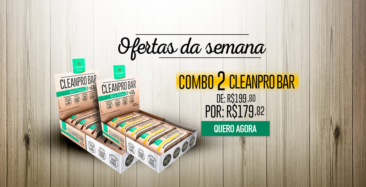 Banner - Ofertas da semana 2x Cleanpro bar