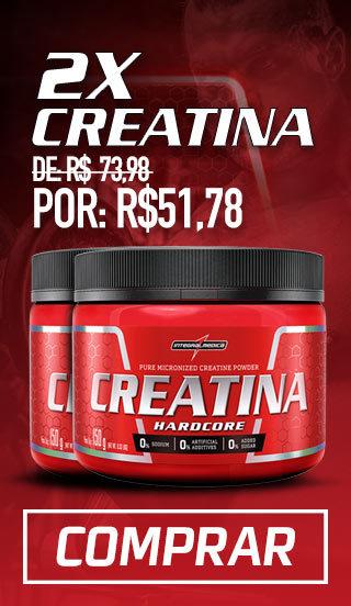 Promoção Semanal - 2x creatina 150g