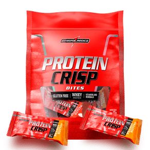 Protein Crisp Bites Peanut Butter - Tamanho ideal para o seu snack