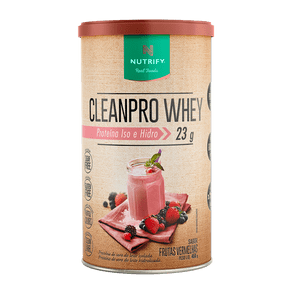 CleanPro Whey Frutas Vermelhas - Whey Protein