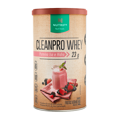 CleanPro Whey Frutas Vermelhas - Whey Protein
