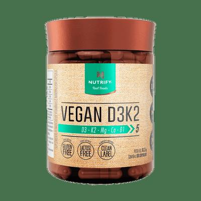 Vegan D3K2 - Vitamina vegana