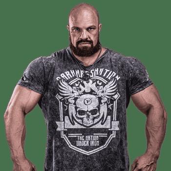 T-Shirt Darkness Torment - Camiseta de Treino - Frente