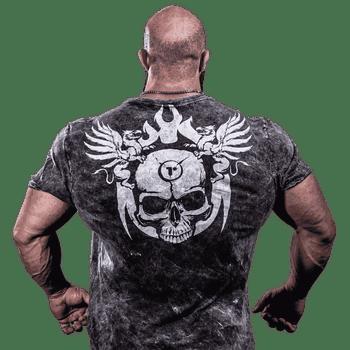T-Shirt Darkness Torment - Camiseta de Treino - Costas