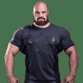 T-Shirt Darkness Renagade - Camisetas Para Treino - Tam P