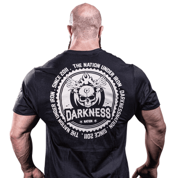 T-Shirt Darkness Banish - Camisetas para Treino - Costas
