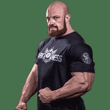 T-Shirt Darkness Rampage - Camiseta Treino Academia - Frente