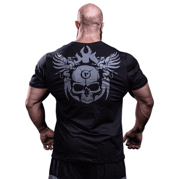 T-Shirt Darkness Rampage - Camiseta Treino Academia - Costas