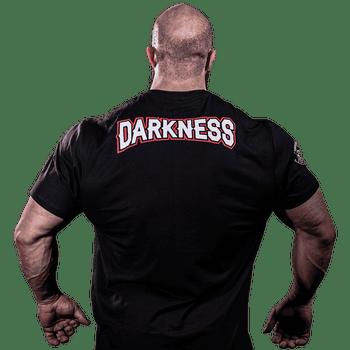 T-Shirt Darkness Rage - Camisetas Para Treino - Costas
