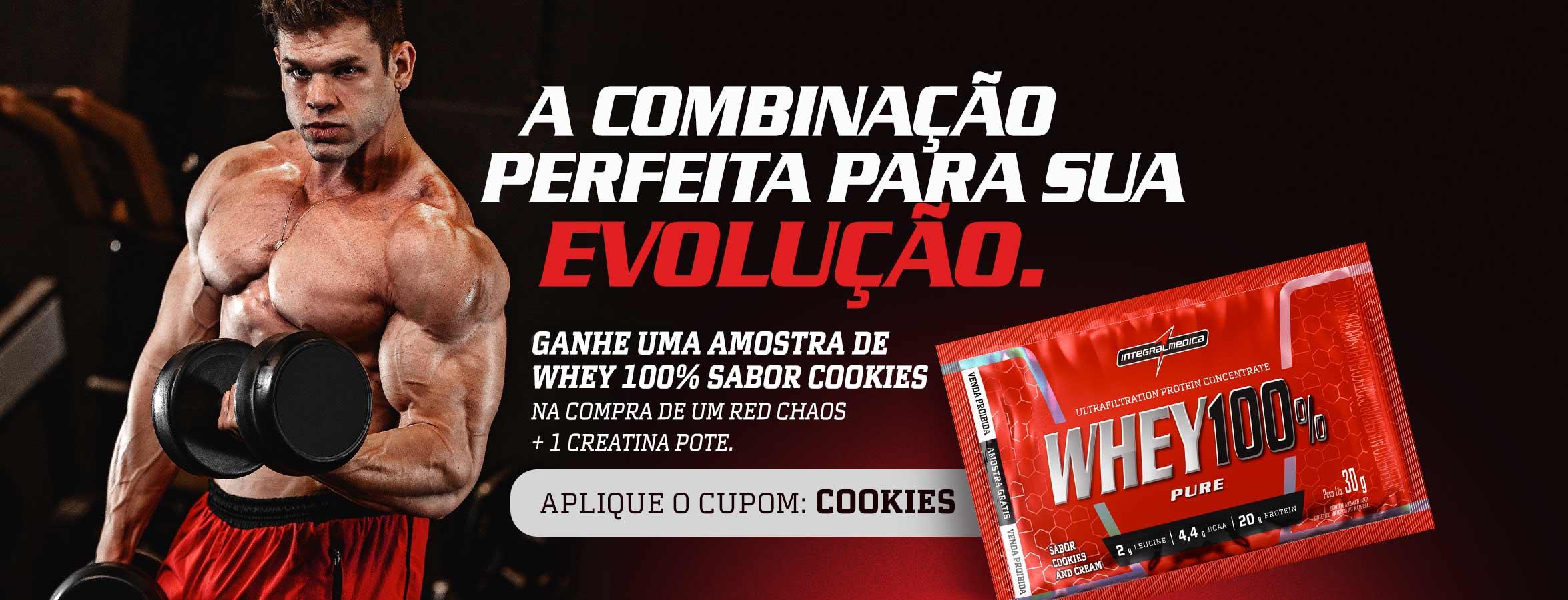 Amostra Cookies and Cream Setembro